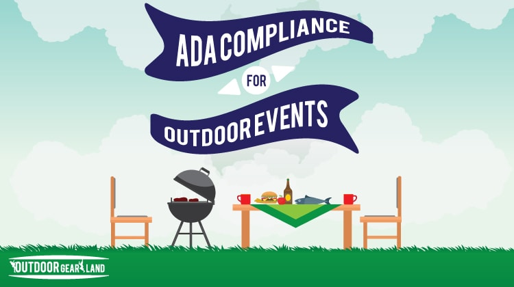 Ada Compliance For Outdoor Events | Infographic