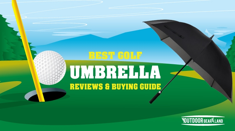 Best Golf Umbrella 2017 with Ultimate Buying Guide