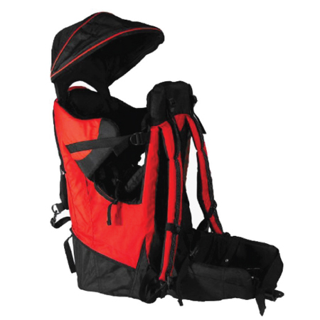 Deluxe Red Baby Toddler Backpack