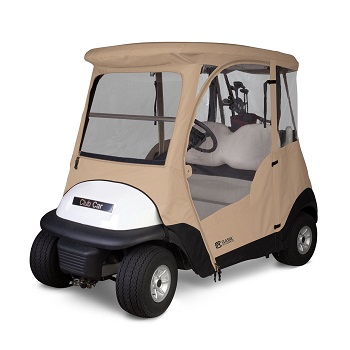 Classic Accessories Fairway Deluxe 4-Sided 2-Person Golf Cart Enclosure