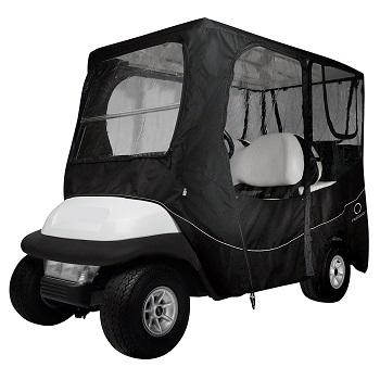 Classic Accessories Fairway Golf Cart Deluxe Enclosure