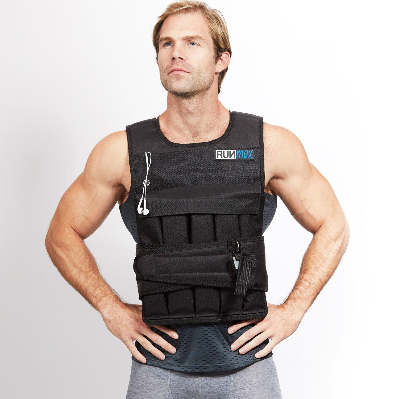 RUNFast/Max 12lbs-140lbs Adjustable Weighted Vest