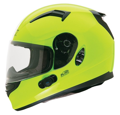 O'Neal Commander Bluetooth Helmet (Hi-Viz, X-Small)