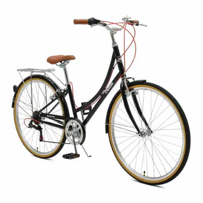 d760ede7c3c Critical Cycles Beaumont 7 Seven Speed Lady s Urban Hybrid Bike ·
